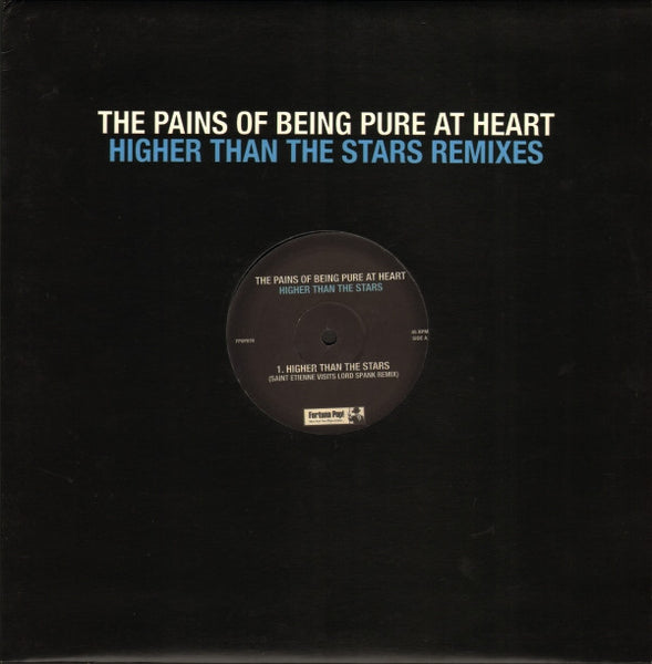 Pains Of Being Pure At Heart - Higher Than The Stars remixes 12""