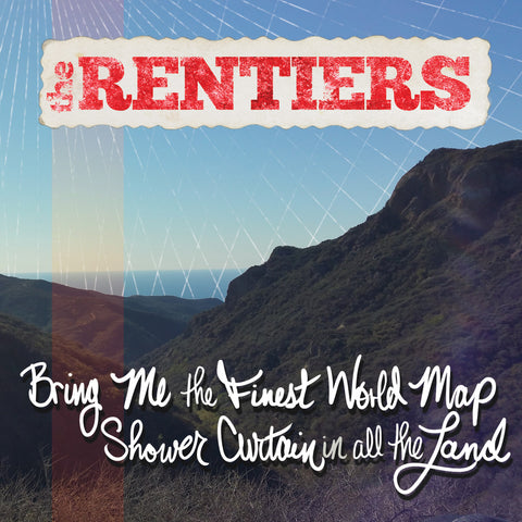 Rentiers - Bring Me The Finest World Map Shower Curtain In All The Land cd