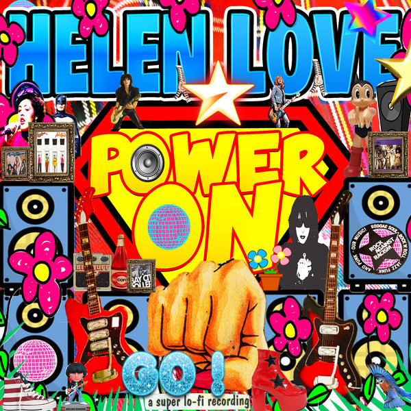Helen Love - Power On cd