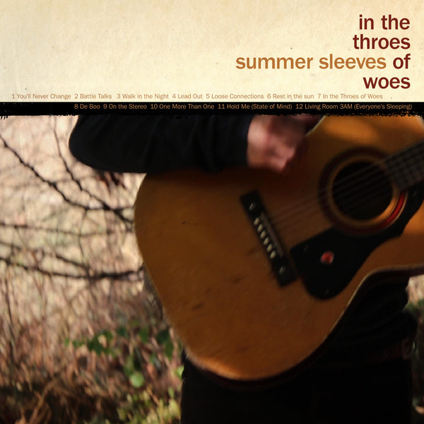 Summer Sleeves - In The Throes Of Woes cd