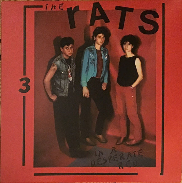 Rats - In A Desperate Red lp