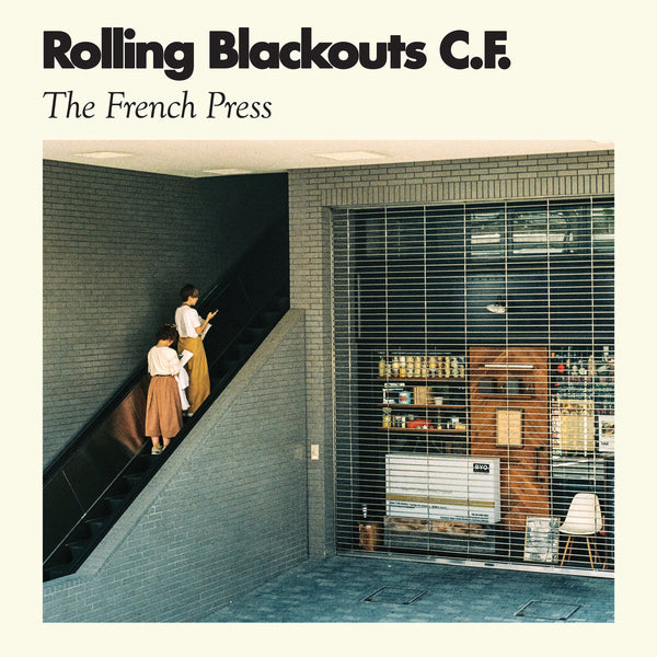 Rolling Blackouts C.F. - The French Press EP cdep/lp