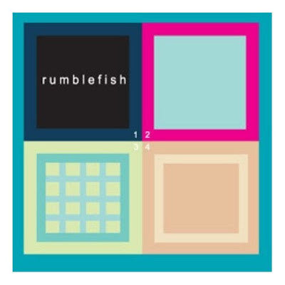 Rumblefish - 1234 cd