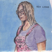 Sea Lions / Golden Grrrls - split 7""