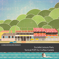 "Socialist Leisure Party - Tactical POP! For Coffee Cadets 7"" w/cd"