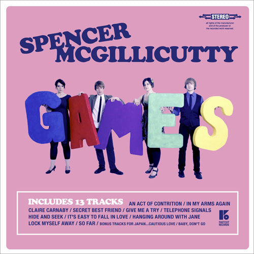 Spencer McGillicutty - Games cd