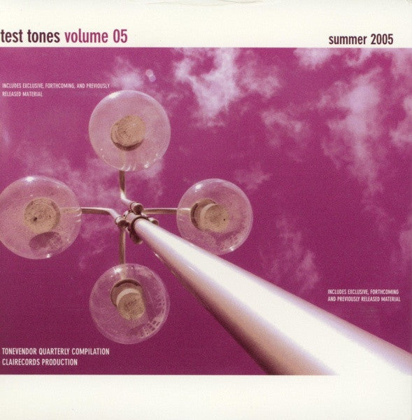 Various - Test Tones Volume 5 cd