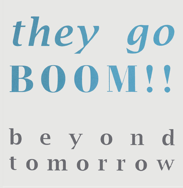 They Go Boom!! - Beyond Tomorrow EP cdep