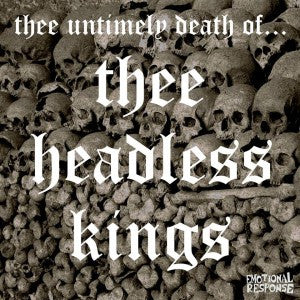 Thee Headless Kings - Soul Music For The Dehydrated 7""