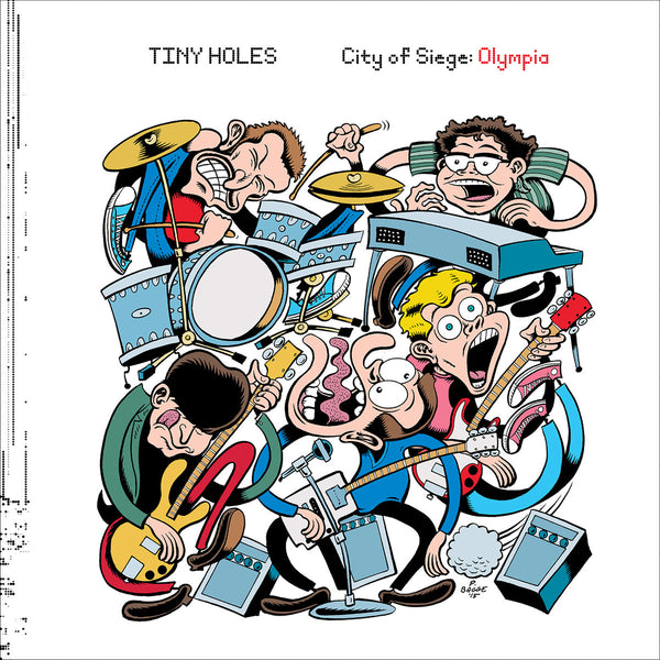 Tiny Holes - City Of Siege: Olympia lp