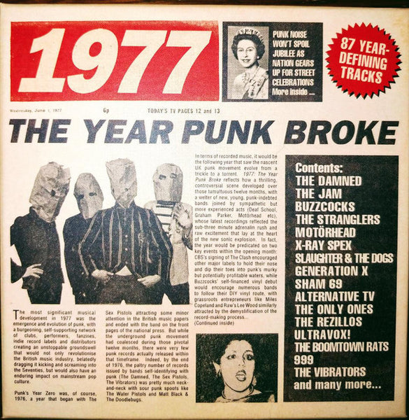 Various - 1977: The Year Punk Broke cd box