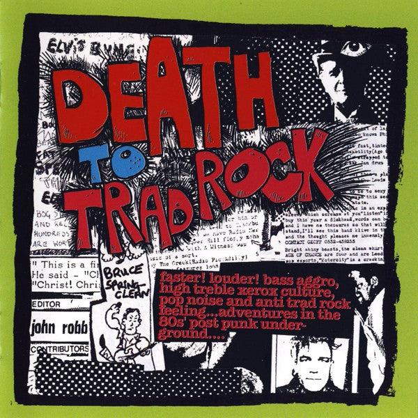 Various - Death To Trad Rock cd
