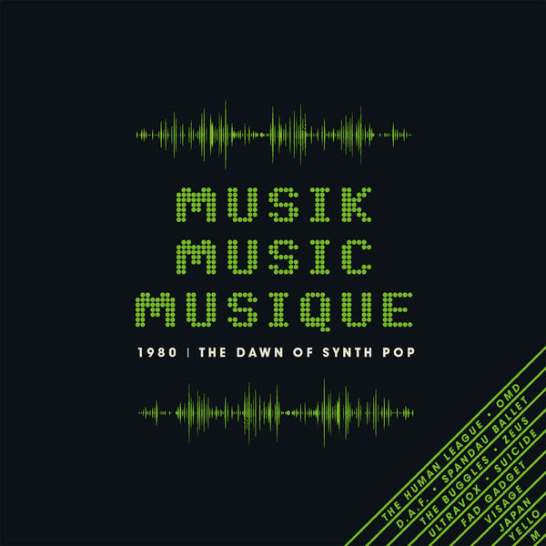 Various - Musik Music Musique - 1980: The Dawn Of Synth Pop cd box