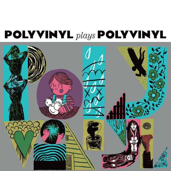Various - Polyvinyl Plays Polyvinyl dbl lp