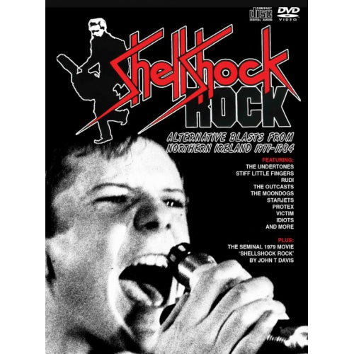 Various - Shellshock Rock: Alternative Blasts From Northern Ireland 1977-1984 cd box