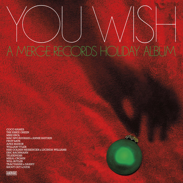 Various - You Wish: Merge Records Holiday Album lp