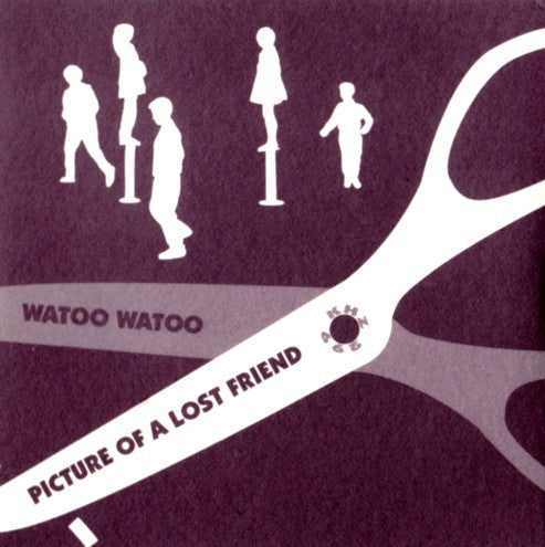 "Watoo Watoo - Picture of a Lost Friend 3"" cd"