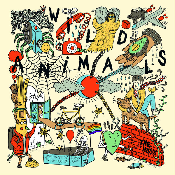 Wild Animals - The Hoax lp