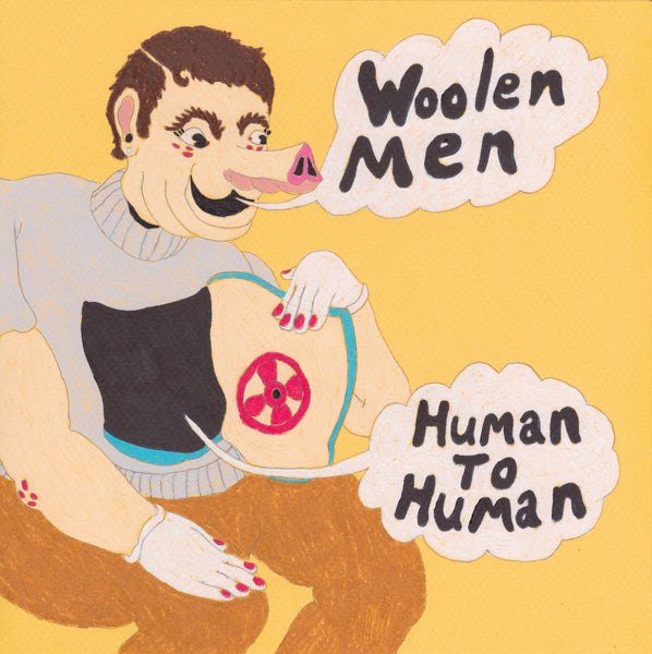 Woolen Men - Human To Human lp