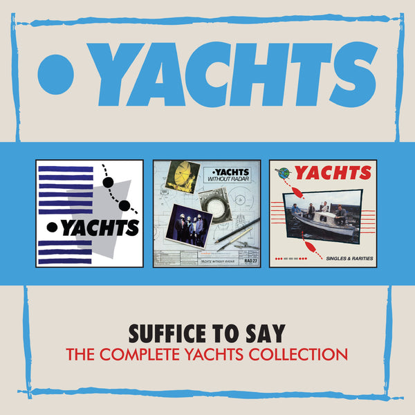 Yachts - Suffice To Say: The Complete Yachts Collection cd box