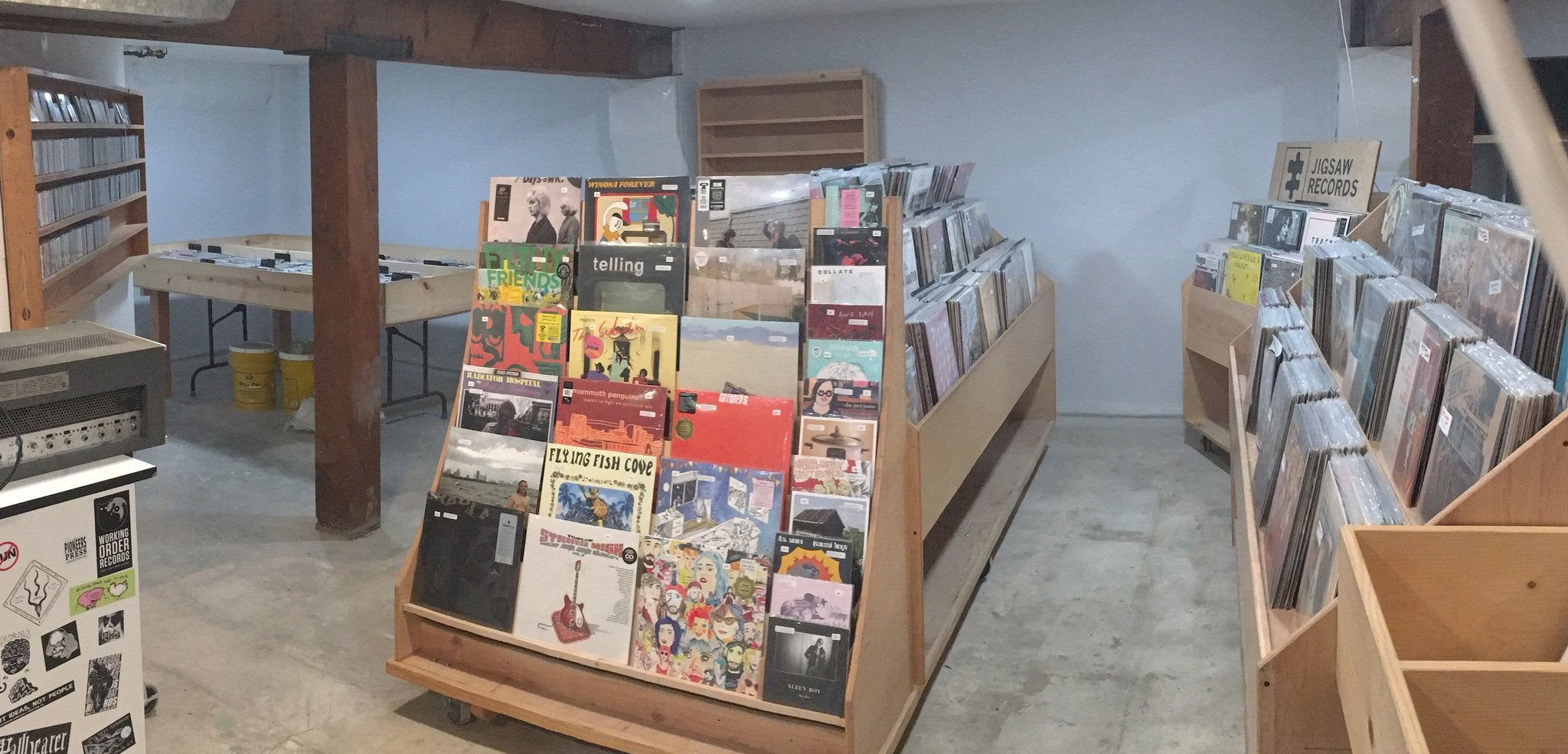 The Jigsaw Records shop!