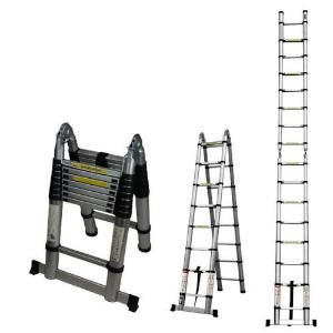 aluminum multi position ladder