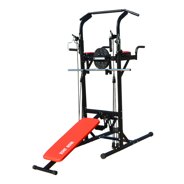 Iron Jack Muli Function Power Tower Work Out Exercise