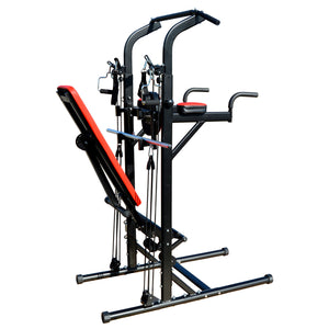 Multi Function Exercise Tower Iron Jack Fitness