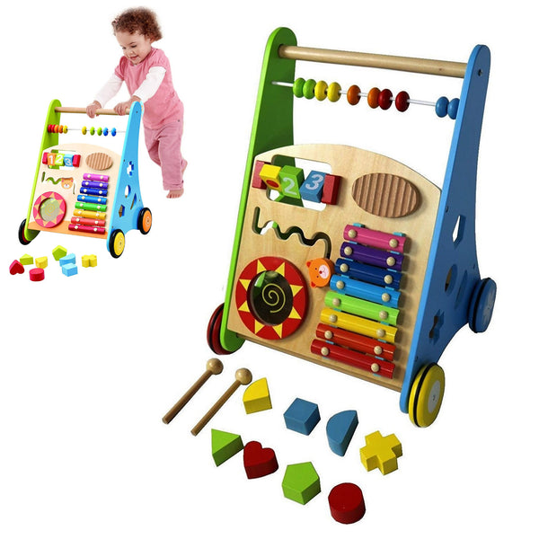 abacus baby education activity walker