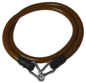 IJ Fitness Heavy Duty Latex Body Resistance Band Brown