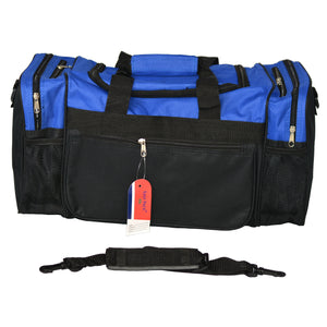 Easy Pack Sports Bag with Adjustable Strap Blue