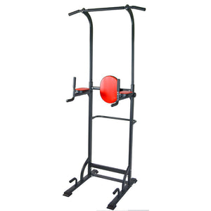 Power Tower Push Up Pull Up Dip Home Exercise Workout Station Gym