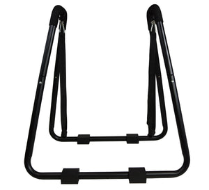 Heavy Duty Dip Station Stand with Push Up Straps Exercise Machine Tricep Workout