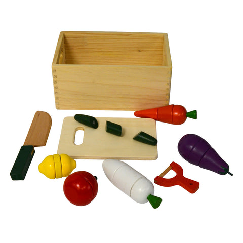Wood Toy Fruit Cutter