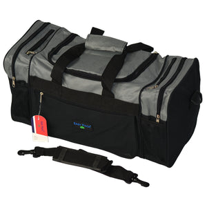 Easy Pack Sports Bag with Adjustable Strap Grey