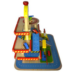 Education Wooden Toy Gas Station