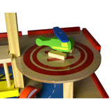 Wooden Toy Helicopter Pad