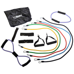 I J Fitness Resistance Bands 13 Piece Set