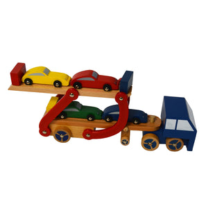 Wooden Toy Semi Truck