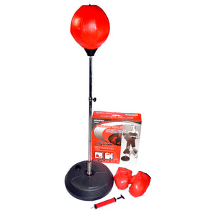 Kids speed ball punching set