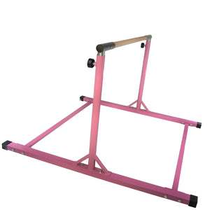Pink Jungle Kids Premium Senior Junior Adjustable Expandable Horizontal Gymnastics Gymnast Kip Athletic Bar