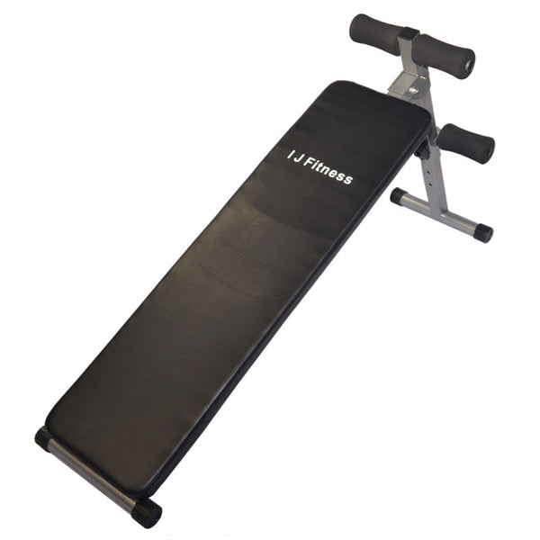 I J Fitness Straight Sit Up Bench