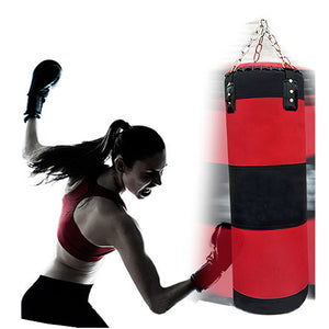 Iron Jack Canvas Punching Bag White Frame MMA Boxing Karate Taekwondo