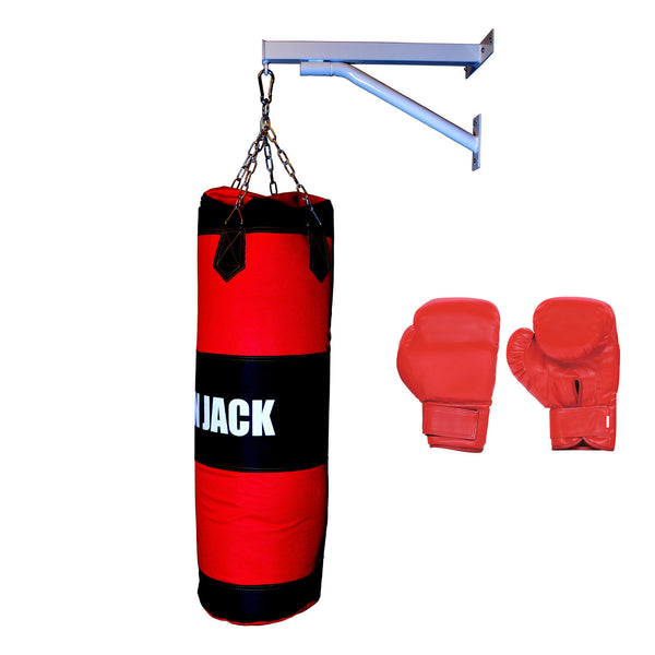 Heavy punching bag boxing