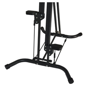 XR Vertical Climber Stepper Cardio Workout Exercise Machine with Resistance Cords
