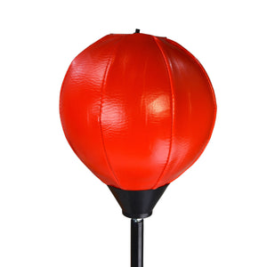 Tots Punching Bag Speed Ball Adjustable Stand with Boxing Gloves