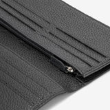 Continental Wallet, Cachemire, Black