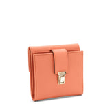 Small Flap wallet, Evolution ##Peach