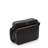 East/West Bag with zip, Cachemire ##Black