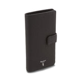 Vertical Billfold 8 credic card case, Cachemire ##Black